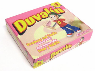Duvalin Strawberry-Vanilla Candy Creams