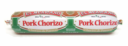 El Mexicano Pork Chorizo (Pack of 3)