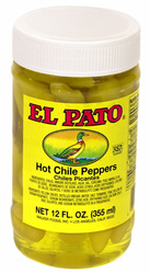 El Pato Hot Chile Peppers - Yellow Peppers