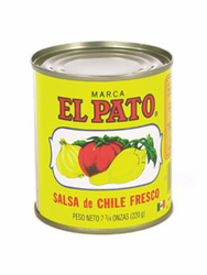 El Pato Salsa de Chile Fresco - Hot Tomato Sauce (Pack of 6)