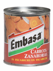Embasa Carrots in Escabeche (Pack of 3)
