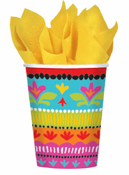 Fiesta Brights Cups 9 oz