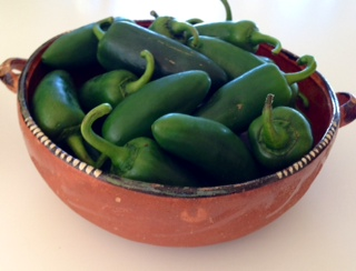 Fresh Chile Jalapeno Peppers
