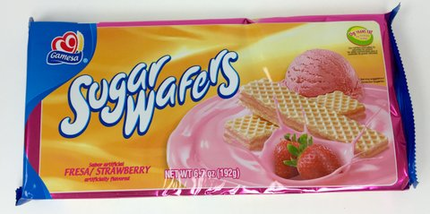 Gamesa Strawberry Wafers (Pack of 3)