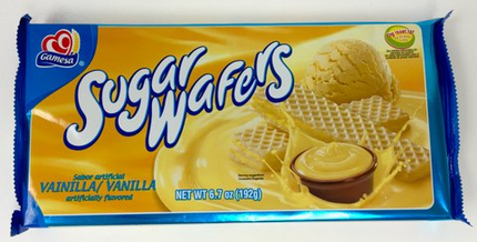 Gamesa Vanilla Wafers (Pack of 3)