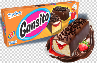 Gansito Marinela Pastelitos - Snack Cakes - 8 Gansitos
