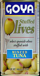 Goya Manzanilla Olives Stuffed with Tuna