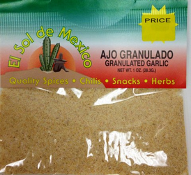 Ground Garlic by El Sol de Mexico