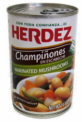 Herdez Mushrooms in Escabeche
