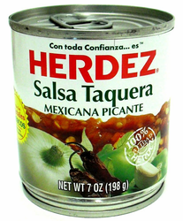 Herdez Salsa Taquera - Hot (Pack of 3)