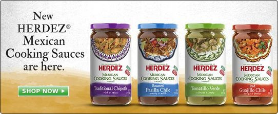 Herdez Salsas and Mexican Cooking Sauces