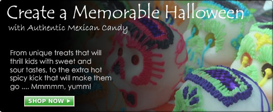 Create a Memorable Halloween with Authentic Mexican Candy at MexGrocer.com