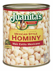Juanita's Mexican-Style White Hominy
