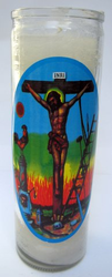 Just Judge Jesus Candle (Pack of 6)