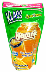 KLASS LISTO Orange Drink Mix-Makes 8.6 Liters