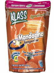 KLASS LISTO Tangarine Drink Mix-Makes 8.6 Liters