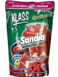 KLASS LISTO Watermelon Drink Mix-Makes 8.6 Liters