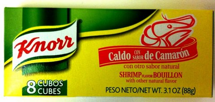 Knorr Shrimp Flavored Boullion Cubes (Pack of 3)