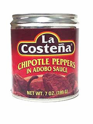 La Costena Chipotle Peppers in Adobo Sauce (Pack of 3)