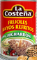 La Costena Refried Beans with Chicharron (Pack of 3)