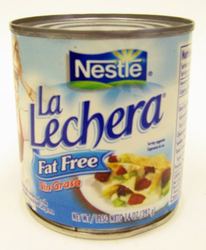 La Lechera Fat Free Milk by Nestle