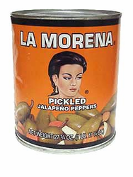 La Morena Whole Jalapeños Peppers