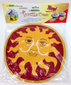 La Tortilla Oven Warmer Red  Sun Fabric