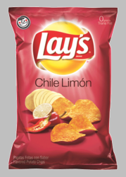 Lay's Chile Limon Flavored Potato Chips (Pack of 3)
