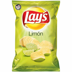 Lay's Limon Flavored Potato Chips (Pack of 3)
