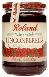Lingonberry Jam - Roland Wild Swedish Lingonberries