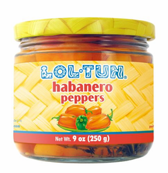 Lol Tun Habanero Peppers