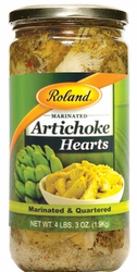 Marinated & Quartered Artichoke Hearts
