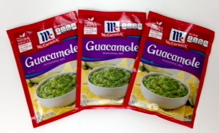McCormick Guacamole Seasoning Mix (Pack of 3)