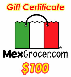MexGrocer.com $100 Gift Certificate