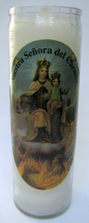 Our Lady of Carmen Candle (Pack of 6)