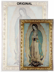 Our Lady of Guadalupe Poster - Virgin of Guadalupe - Large