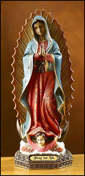 Our Lady of Guadalupe Statue Small