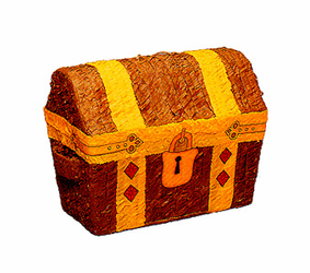 Pirate's Treasure Chest Pinata (Cofre de Pirata)