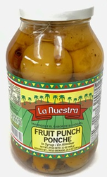 Ponche en Almibar by La Nuestra Fruit Punch in Syrup