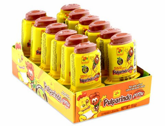 Pulparindo Push Hot and Salted Tamarind Pulp Candy