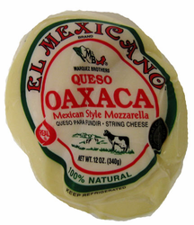 Queso Oaxaca El Mexicano - Mexican Mozzarella Cheese (Pack of 3)