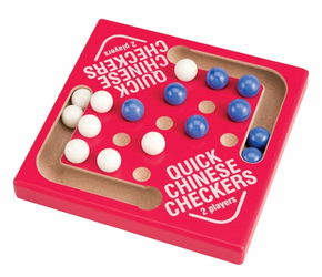 Quick Chinese Checkers Marble Game