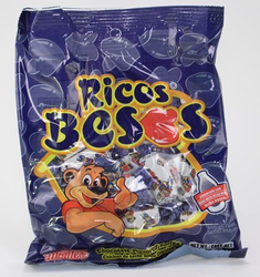 Ricos Besos - Chocolate Flavored Toffee by Montes
