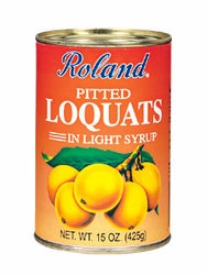 Roland Peeted Loquats in Syrup