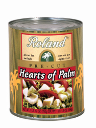 Roland Pre-cut Hearts of Palm