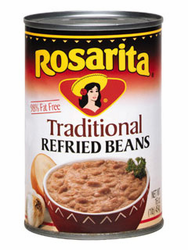 Rosarita Refried Beans - Traditional (Pack of 3)