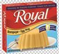 Royal: Fresca-Egg Nog Gelatin with milk (2.8 oz)