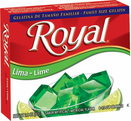 Royal: Fresca-Lime Gelatin (Pack of 3)