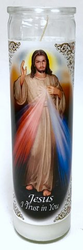 Sagrado Corazon Jesus I trust in You Candle (Pack of 6)