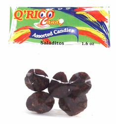 Salted Plums with Chili Q'Rico (Pack of 3)